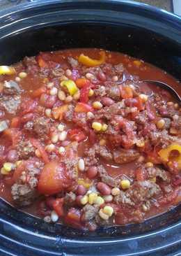Smokey Crock-pot Venison Chili