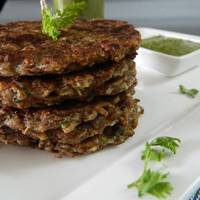 Raw Banana and Cottage Cheese Fritters