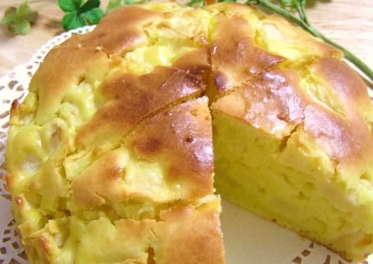 Pancake Mix Cream Cheese Apple Cake Recipe by cookpad ...