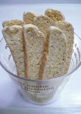 Oil and Egg Free Okara Biscotti