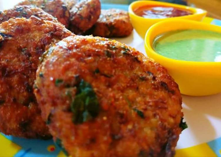 Dalia And Veggie Cutlets
