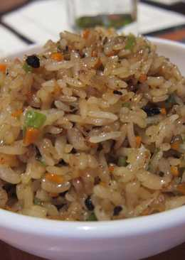 Fried Rice (leftover rice)
