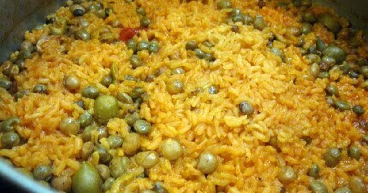 Arroz con Gandules / Rice and Pigeon Peas Recipe by ...