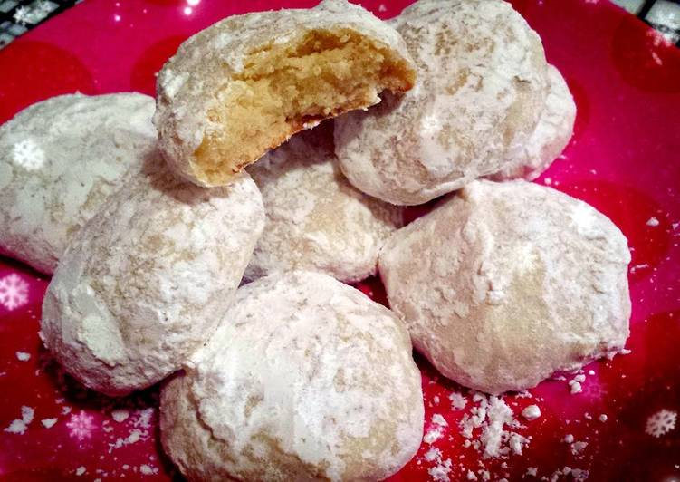Lemon Snowball Cookies Recipe By Whisk Cookpad