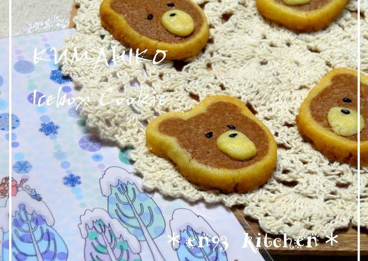 """Kumahiko"" Bear Icebox Cookie"