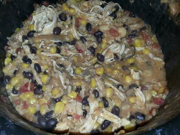 Mexican chicken and rice stew