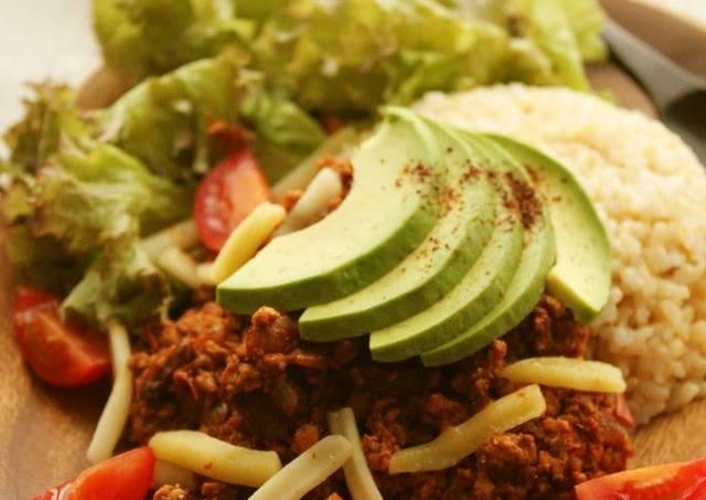 Vegetarian Taco Rice Recipes — Dishmaps