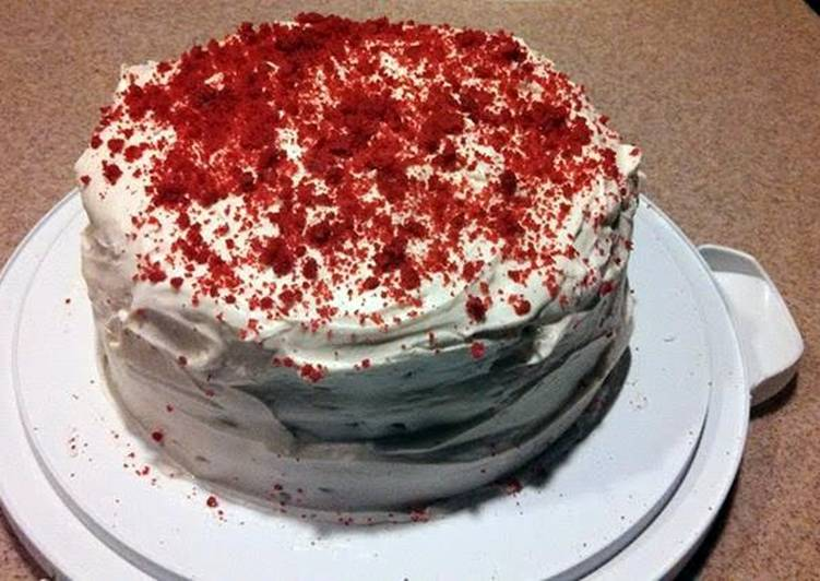 Southern Red Velvet Cake Recipe by HardDog1110 Cookpad