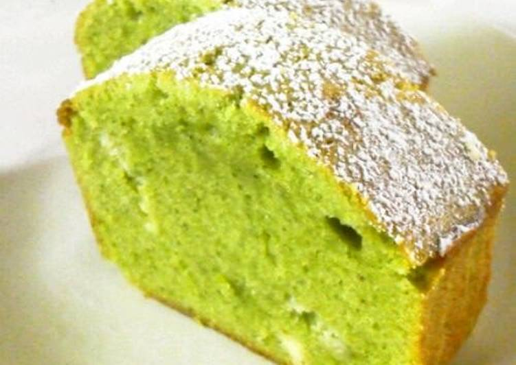 Easy Matcha Chocolate Pound Cake Recipe By Cookpad Japan Cookpad