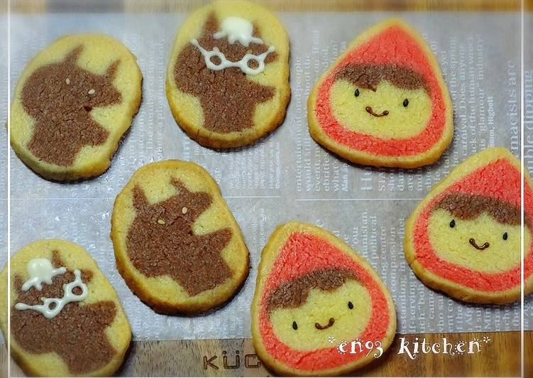 Cute Little Red Riding Hood Icebox Cookies Recipe By Cookpad Japan