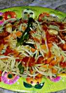 Noodles in Indian Style
