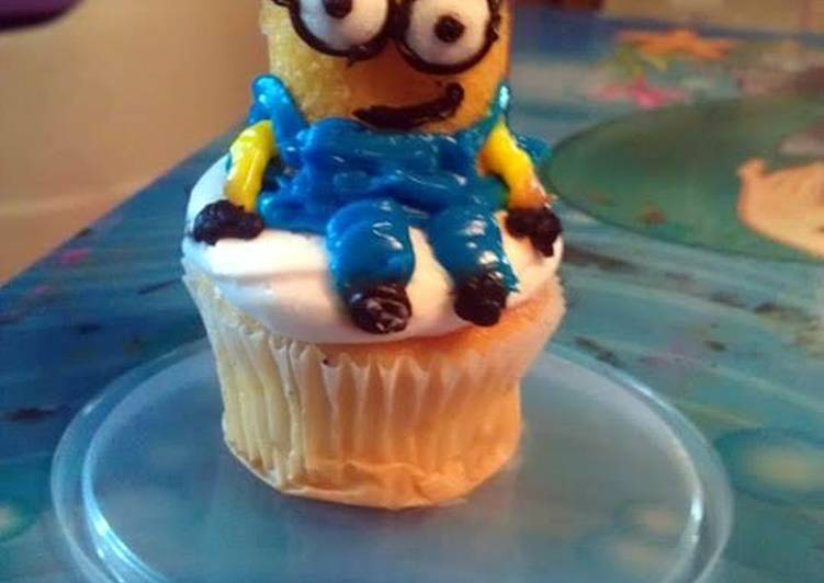 Despicable Me Minion Cupcakes Recipe By Renee Cookpad