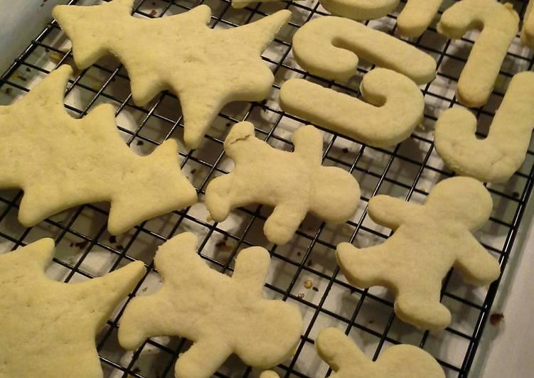Best Cut Out Sugar Cookies Recipe By Brenda Cookpad