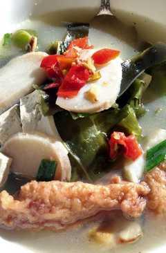 resep masakan seaweed tofu and fishcakes soup %e6%b5%b7%e8%97%bb%e8%b1%86%e8%85%90%e9%b1%bc%e4%b8%b8%e6%b1%a4