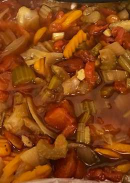 Cabbage Soup in Crockpot