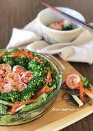 Shrimp Cold Somen Salad