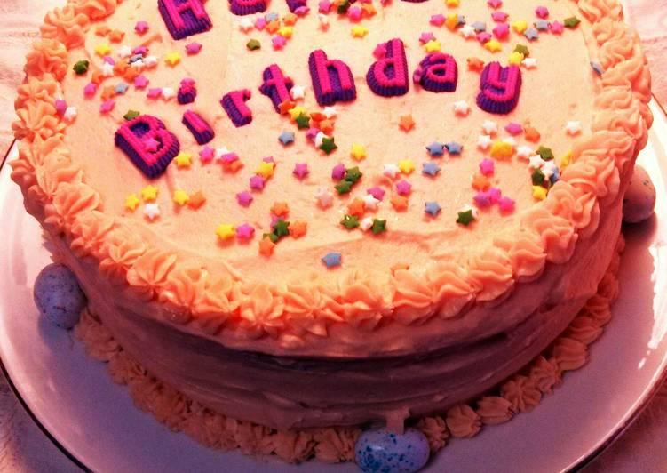 My Favorite Birthday Cake Recipe By Poconolady Cookpad Kenya