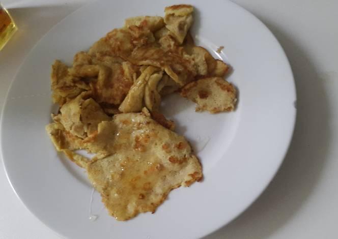 Resep Banana Egg Pancakes