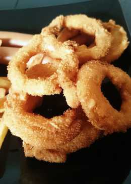Super crispy onion rings