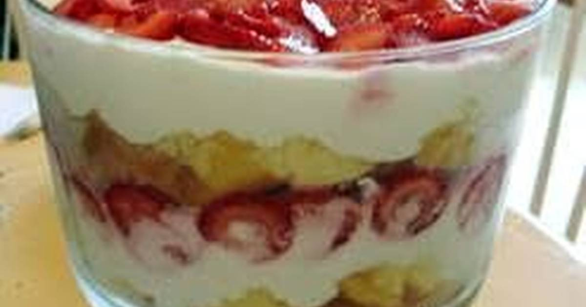 Angel Food Cake Glaze Strawberries