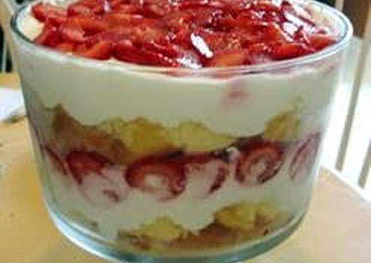 Strawberry angel food delight recipe by msmiley cookpad strawberry angel food delight forumfinder Gallery