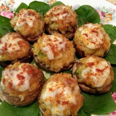 crab stuffed mushrooms recipe by sammie27 cookpad kenya - Olive Garden Stuffed Mushrooms