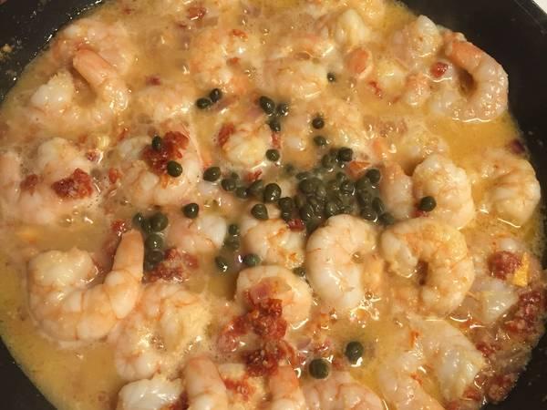 Clarke's Shrimp Scampi