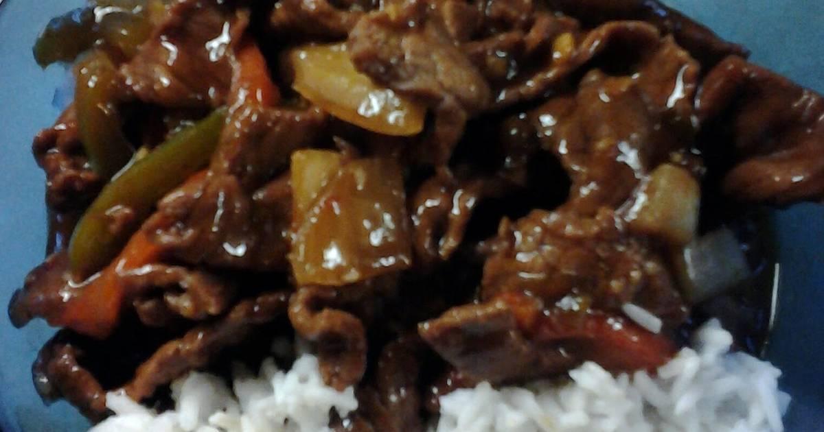 Chinese Peppersteak #4 Recipe by sammie27