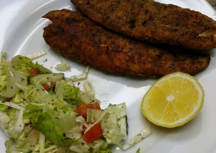 Homemade style fish fillet recipe by midia cookpad for Homemade fish food