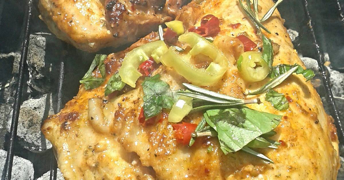 how to cook bone in chicken breast