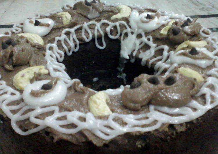 Chocolate venilla cake
