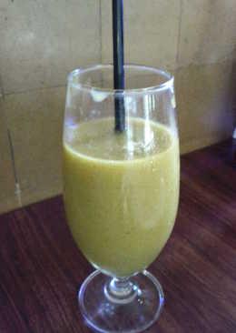 Mango and Basil Drink