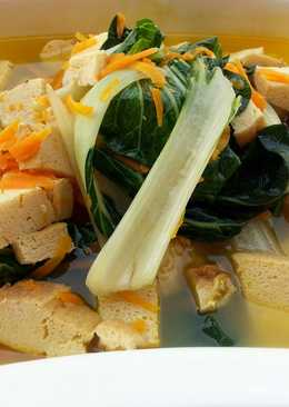 Tofu And Bak Choy Vegan  In 5 Minute