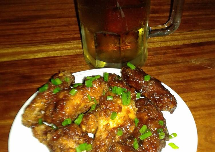 Asian Fusion Chicken Wings Recipe By Rehfcooking Cookpad