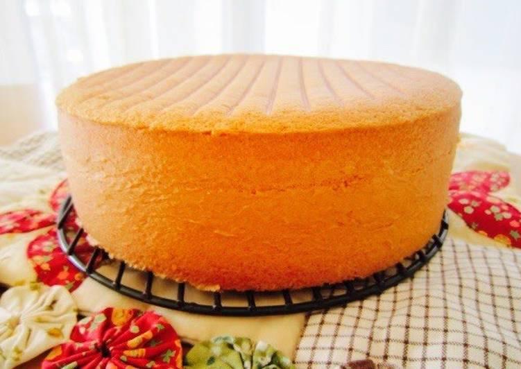 Recipes For Japanese Sponge Cake: Fluffy Genoise Sponge Cake Recipe By Cookpad.japan