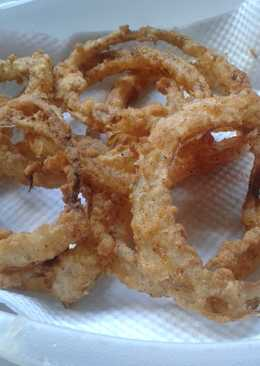 My simple onion rings ;)