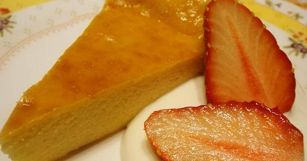 Japanese Towel Cake Recipe: Reduced Calories Tofu Cheesecake Recipe By Cookpad.japan