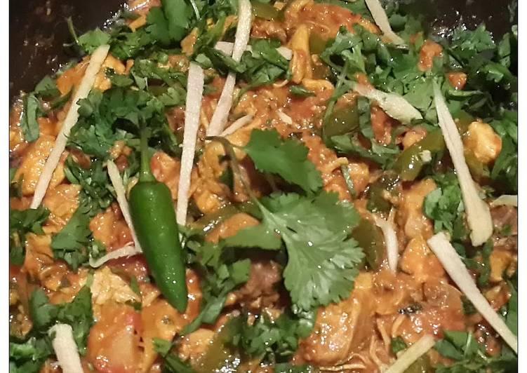 Frontier Chicken Karahi Recipe By Tribhuz Cookpad