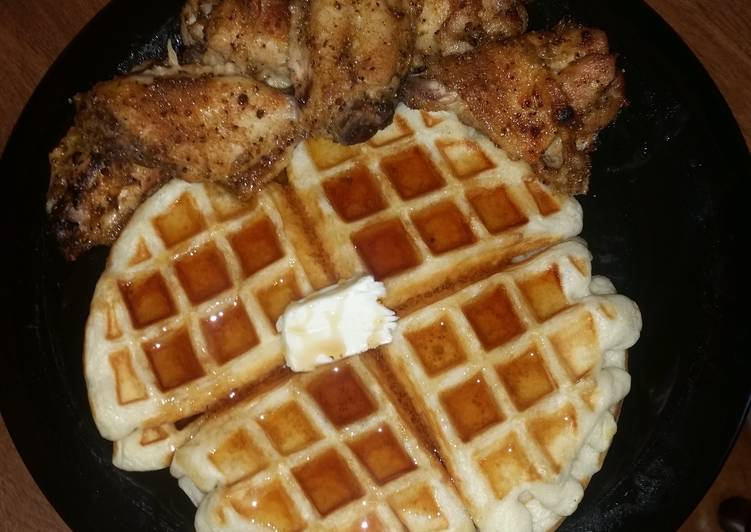 Easy Chicken n Waffles recipe main photo