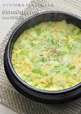 Korean Style Steamed Egg Custard Geranchim