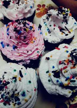 Eggless Cup cakes