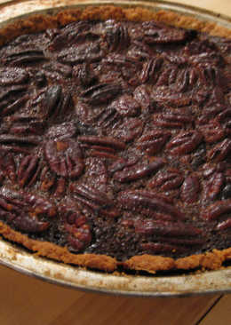Molasses-Pecan Pie