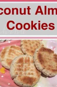 resep masakan coconut almond cookies