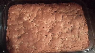 Peanut Butter Oatmeal Bar Cookies