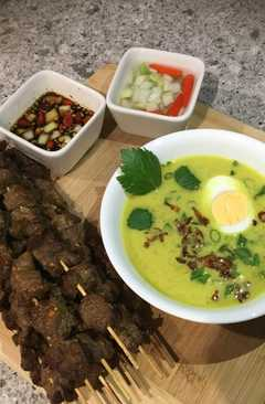 resep masakan indonesian yellow chicken soup in coconut milk
