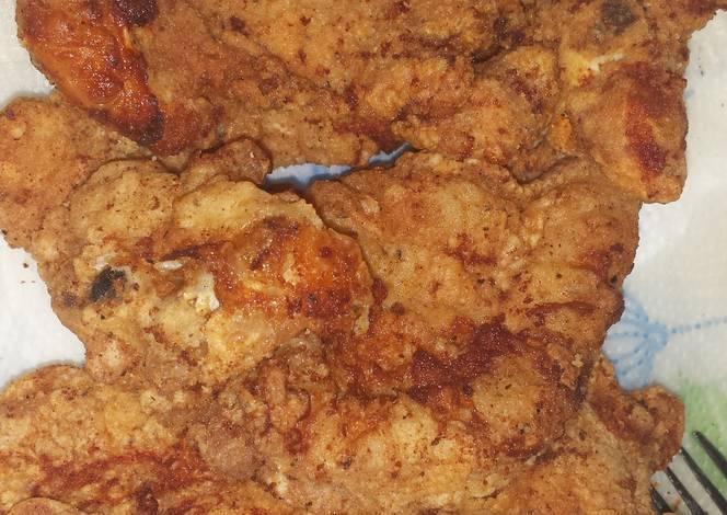 Sharon S Golden Fried Turkey Chops Recipe By Sharon Ellis
