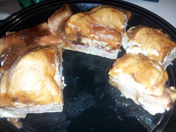 Buttermilk Biscuit Gravy Egg Bacon Bake