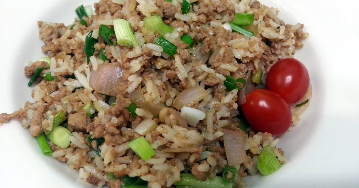 Pork Fried Rice Recipe by Lee Goh