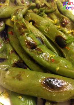 how to cook fava bean pods