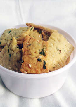 Eggless Masala Biscuit